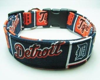Detroit Tigers Dog Collar