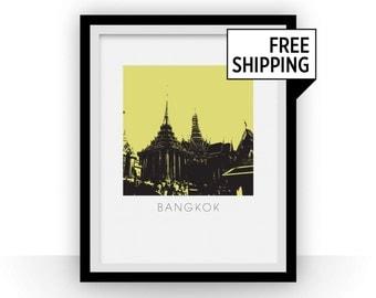 Bangkok Art Poster