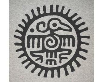 Ancient Thunderbird Mayan Aztec Crew T-Shirt BL