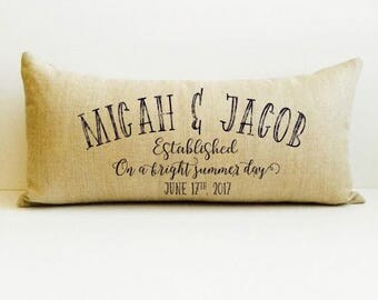 anniversary, 2nd year, anniversary gift for her, love pillow, wedding ...