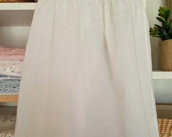 Swiss Batiste Slip with Bodice and Gathered Skirt