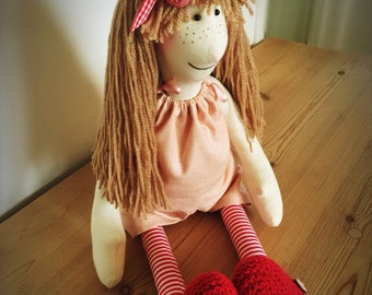 Dolly - rag doll - cloth doll