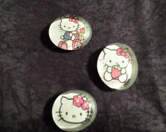 Hello Kitty Magnets