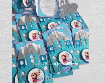 Frozen Castle Invitations