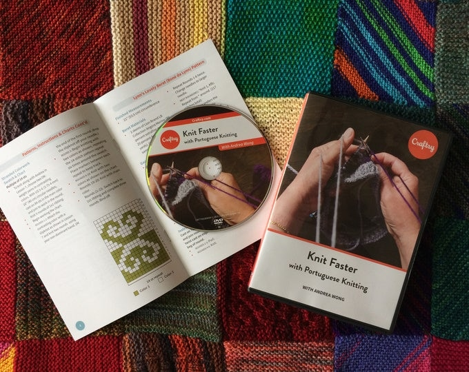 Knit Faster with Portuguese Knitting - Craftsy Class DVD - PRE ORDER