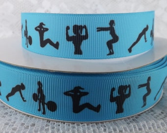 gym ribbon workout ribbon 7/8 ribbon weightlifting ribbon exercise Ribbon