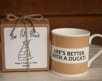 Ducati Espresso Cups Italy