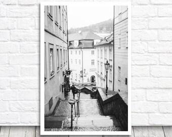 Prague Photo Print, Prague Photography, Street Print, Prague Print, Digital Photo Download, Digital Print, Printable Prague Wall Art