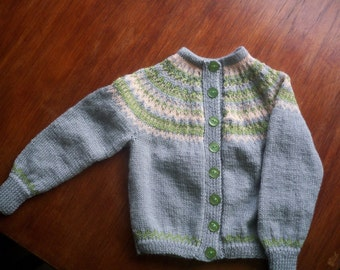 Items Similar To Hand Knitted Child S V Neck Tank Top