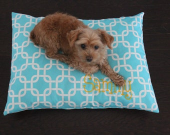 Pet Bed Cover - Personalized Dog Pillow Cover - Pet Bed Duvet - Custom Pet Bed