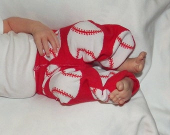 Newborn Baseball Leggings. Newborn Coming Home.  Baseball Pants. Newborn Baby Pants. Newborn Boy. Newborn Girl