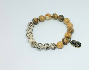 Mens Bracelet Jewellery, Gift For Men Brother Boyfriend Husband Guys Male Friend, Unique Gift, Mens Gemstone Jewellery, Stretch Bracelet