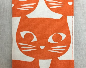 Orange Cat Passport Cover, Passport Holder, Passport Protector, Passport Case