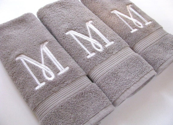 Custom towels hand towel bathroom personalized gift for How to get towels white