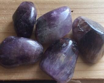 Super Seven Polished Healing Stone from Brazil, Healing Crystal,Chakra Stone, Spiritual Stone