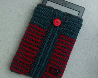 Hand Knit Kindle Case, Voyage Cover, Paperwhite Case
