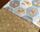 Winnie The Pooh and Honey Combs Pillow Case
