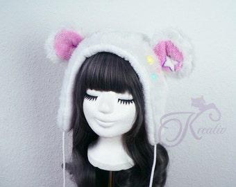 Snow teddy hat