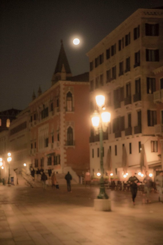 Venice Full Face Black Mirror Mask: Items Similar To Venice, Italy, Evening Pink Lanterns