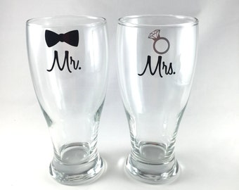 Engagement Gift Idea His And Hers Glasses Couples