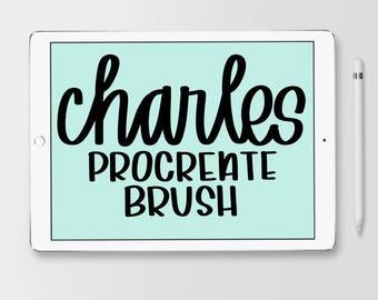 Charles Brush for Procreate
