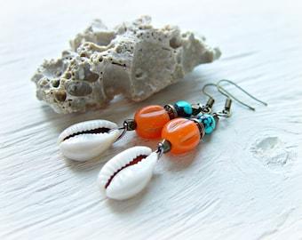 Boho Earrings - Boho Jewelry - Hippie Earrings - Tribal Earrings - African Earrings - Ethnic Earrings