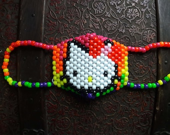 Rainbow melt Hello Kitty Kandi Mask