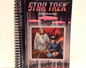 Recycled Star Trek VHS Notebook