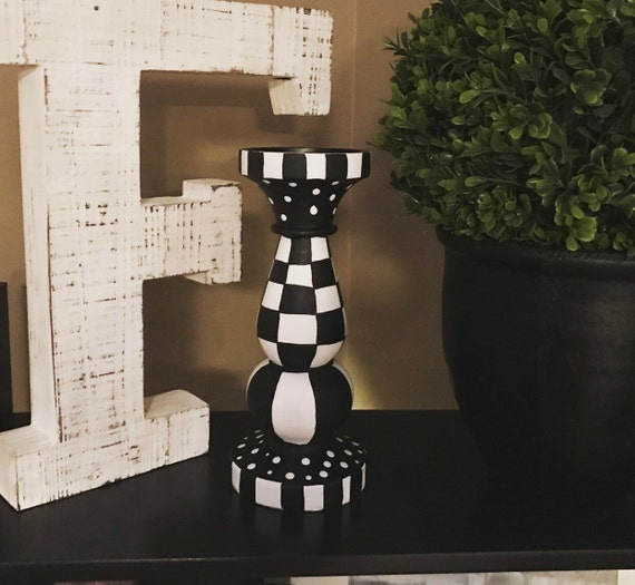Find great deals on eBay for black and white candle holders. Shop with confidence.