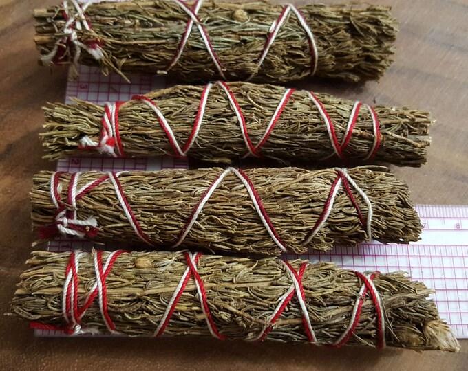 Pinion Pine (Pinus Edulis, Pinyon Pine) ~ 1 small Bundle approximately 4 inches, wild harvested, Reiki infused