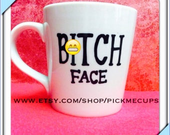 Mature B**** face Coffee Mug - bff mug - funny coffee mug - best friends coffee mug gifts for best friend or sister stocking stuffer besties