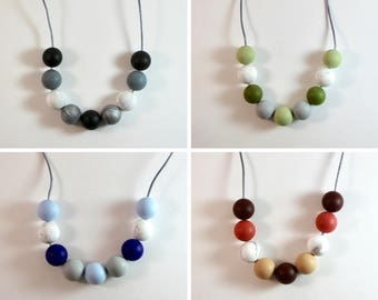 BLAIR Silicone Necklace - Pastels