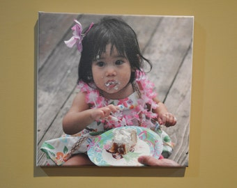 "12""x12"" Personal Giclee Photo on Canvas 12""x12"""