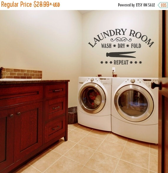Pre-Black Friday Sale Laundry Room Decor By