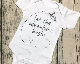Let the ADVENTURE begin - bodysuit