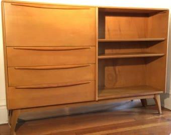 Heywood Wakefield Secretary Desk / Bookcase M382
