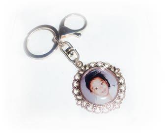 Key chain / bag charms with photo