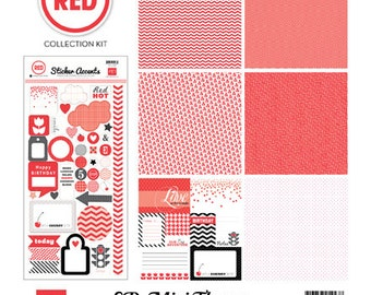 Echo Park Mini Collection Kit - Red