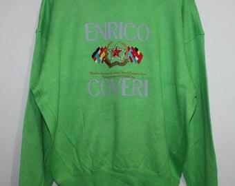 Vintage Enrico Coveri Sport Sweatshirt Crewneck