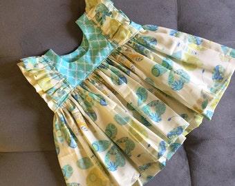 Toddler Girls ruffle tunic top
