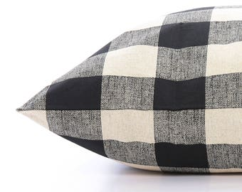 New! Buffalo Check Dog Bed Cover, Plaid Pet Bed Cover, Custom Dog Bed Duvet Cover, Modern Pillow-Style Cover for Small to Large Dog Beds