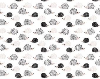 Hedgehog Fitted Crib Sheet