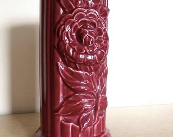 Retro Pottery Vase 1940s