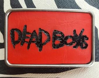 Dead Boys Belt Buckle