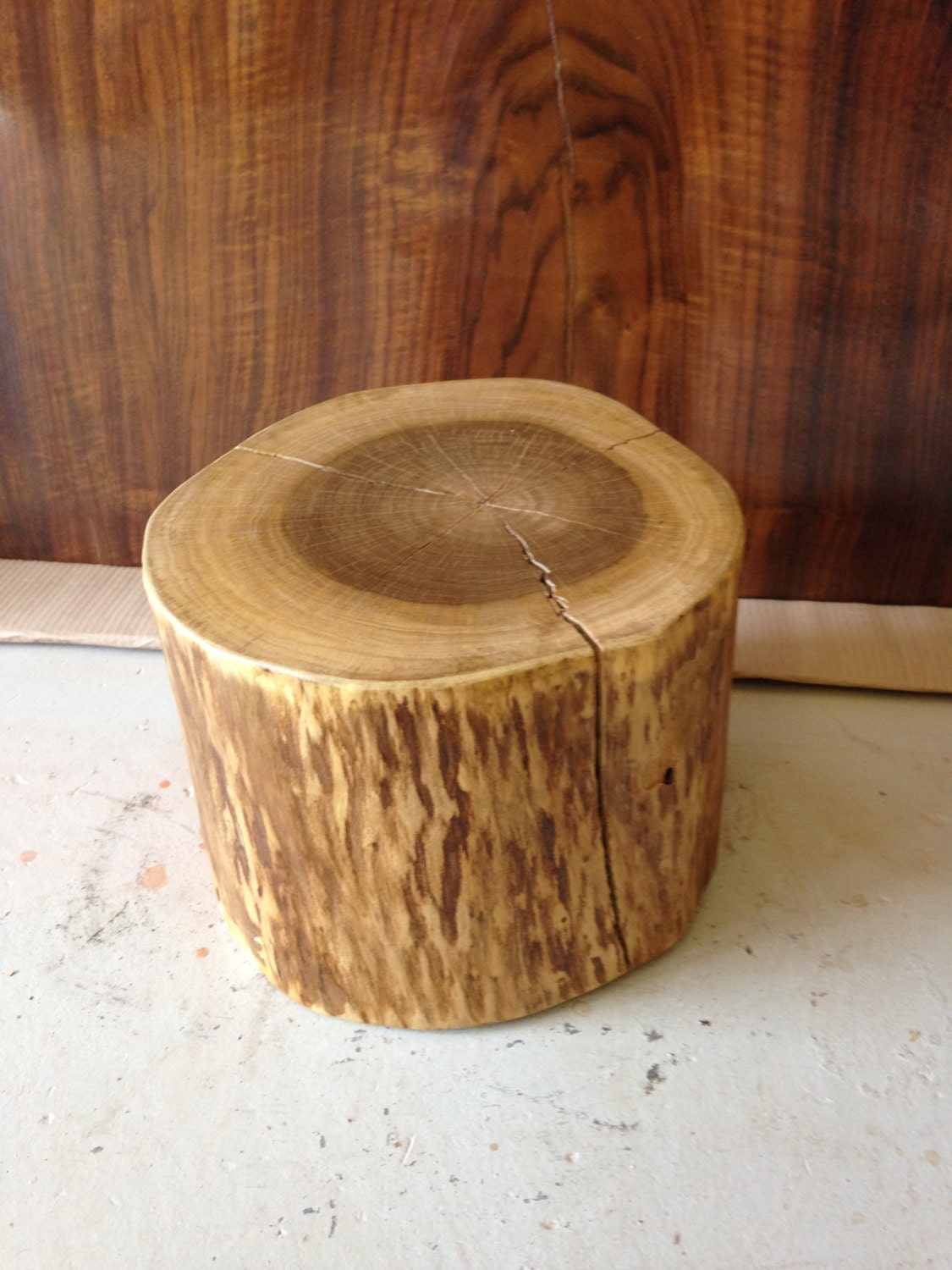 Wood Stump Wood Stump Side Table Wood Coffee Table Tree