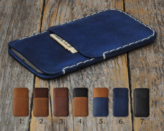 OnePlus 5T 5 3T 3 X 2 One Case Pouch. Handmade Cover Genuine Real Leather Shell Wallet Sleeve Rough Vintage Style Custom Sizes