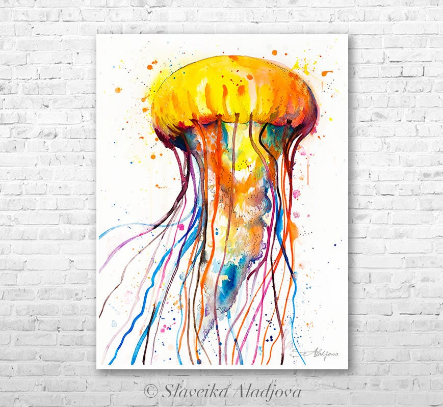 Jellyfish Wall Decor