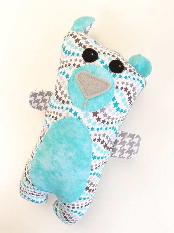 Handmade Bear Softie, Wuzzy Bear