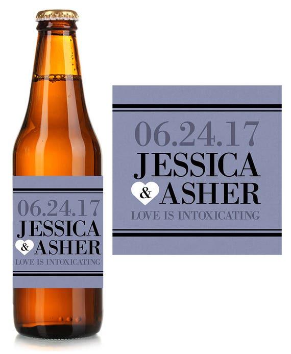 wedding beer labels custom beer label personalized beer label