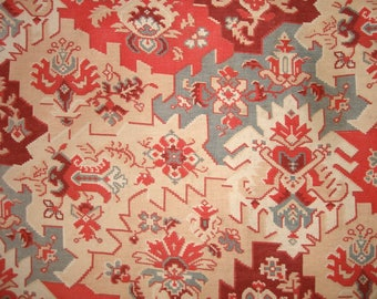 Beautiful 19th century French cotton, Persian style paisley design, perfect for little projects